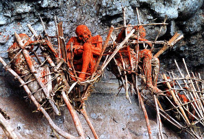 Dimljene mumije Papue NoveGvineje