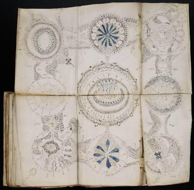 Voynich dijagrami