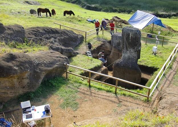 Moai torzo