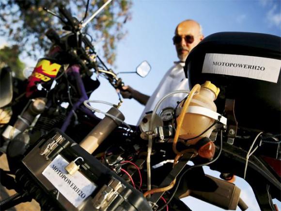 Kratka zanimljivost – Motocikl kojeg pogonivoda