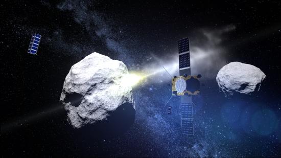 asteroid udar os uma