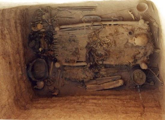 yanghai grobnica os uma