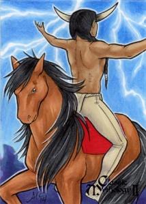 heyoka na konju os uma