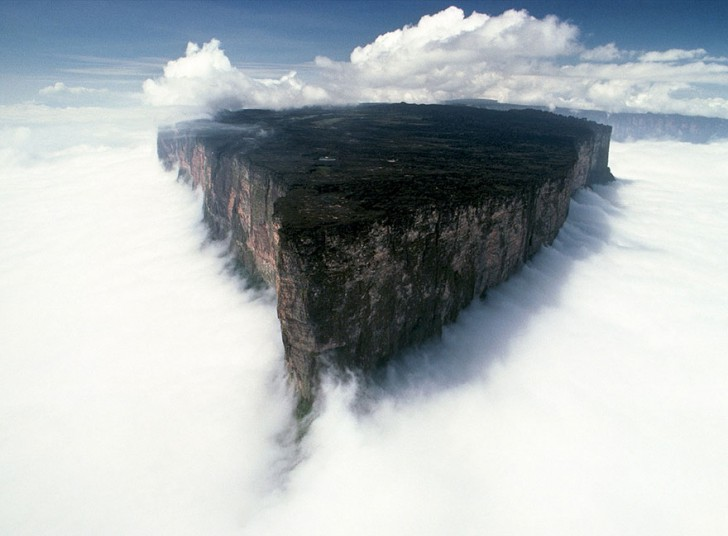 Roraima – planina koja lebdi iznadoblaka