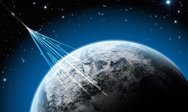 Kozmičko zračenje saZemlje